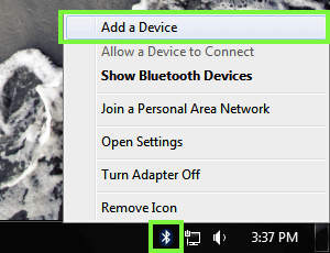 Windows PC Add a Device